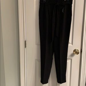 NWT-Express High Waisted Paperbag Dress Pants